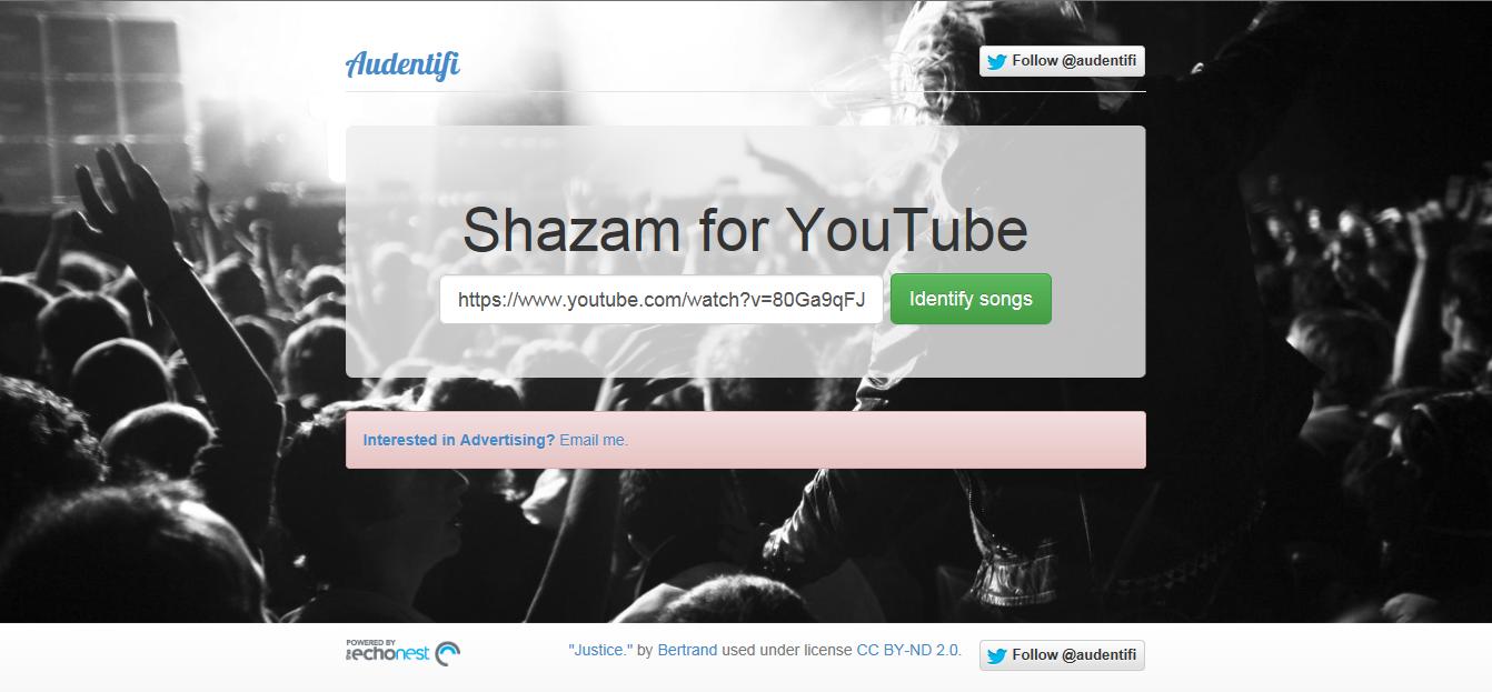Audentifi – Shazam For Youtube | itsamtech